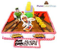 #2D #cakes #subway_surfers @3000/-