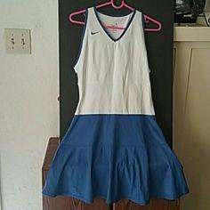 Nike softly worn tennis dress Blue & white tennis dress 3.1 Phillip Lim Dresses Midi