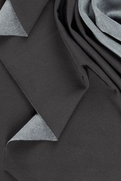 ARTICA fabric. The hollow micro-filaments which make up this bi-elastic, anti-bacterial, brushed techno-fabric ensure unprecedented thermal insulation: moisture wicking and breathable are therefore the most suitable adjectives to describe this fabric which is ideal for extreme sport performance.  #fabrics #fashion #design #colors #textile #moda #inspiration #black