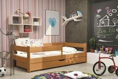 Kinderbett Franzl mit großem Bettkasten in 2 unterschiedlichen Dekoren Diese Kinderbetten unterscheiden sich von anderen in Kreativität, Schönheit und durch den Einsatz natürlicher...  #kinder #kinderzimmer #kinderbett #bettkasten