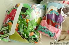 Tulle and Ribbon Scrap Bow How To Make A Gift Bag, Six Sisters, Eat Together, We Are Family, Cute Crafts, Family Meals, Hair Bows, Scrap, Tulle