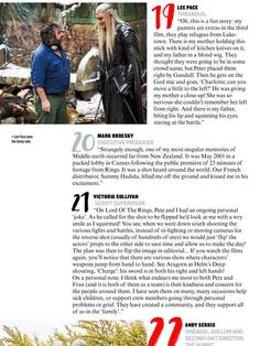 #LeePace talks about his parents as extras in The Hobbit: The Battle of the Five Armies!  | Empire Magazine.