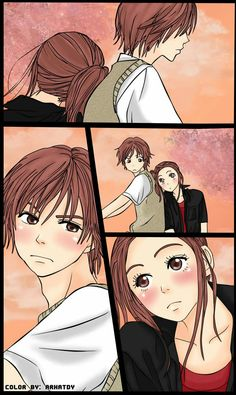 -Otani and Risa (Lovely complex)