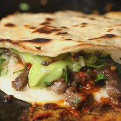 Carne Asada TacosWay by Gabriel Barajas (aka Mr. TacosWay) Recipe by Tasty Sauce Recipes, Beef Recipes, Cooking Recipes, Beef Meals, Microwave Recipes, Griddle Recipes, Healthy Recipes, Mexican Dishes, Mexican Food Recipes