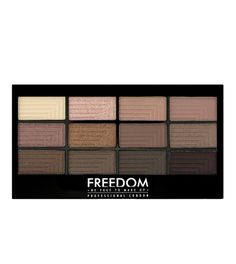 Pro 12 Eyeshadow Palette from Freedom Makeup in Audacious 3. $7.18.