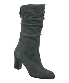 Look what I found on #zulily! Kingfisher Teal Suede Lamont Boot by Naturalizer #zulilyfinds