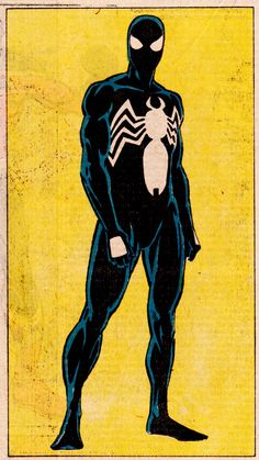 "thecomicsvault: "" SYMBIOTE COSTUME SPIDER-MAN By Ron Frenz (pencils), Josef Rubinstein (inks) & Andy Yanchus (colors) TOHOTMU Vol.2, #12 (Nov. 1986) """
