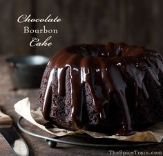 Chocolate Bourbon Cake • Moist, Delicious and Easy to Make Chocolate Morsels, Chocolate Espresso, Chocolate Flavors, Chocolate Heaven, Whiskey Chocolate, Chocolate Glaze, Gourmet Recipes, Cake Recipes, Dessert Recipes