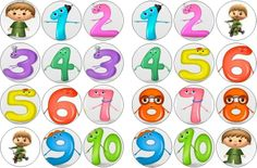 CHARLIE AND THE NUMBERS RICE PAPER BUN CAKE TOPPERS X 24