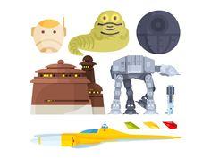 Star Wars Illustration  by Aleksandar Savic #Design Popular #Dribbble #shots