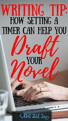 Staying motivated to write can be a struggle when you're in the thick of the drafting process. See how writing on the clock helps me write a better draft! #writing #writingtips #novelwriting #writinglife #drafting #awelltoldstory