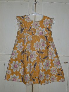 Made by Rae Geranium dress, size 2 by ditherdither, via Flickr