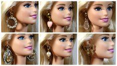 Dica: Como Fazer Brincos para Barbie e Outras Bonecas