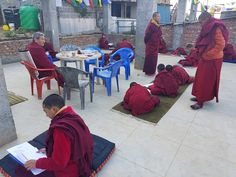 Support a Maratika monk The Monks, Lodges, Life, Cabins