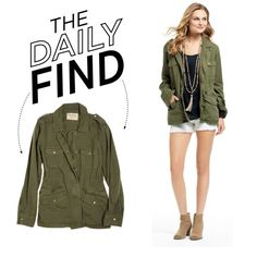 """""""The Daily Find: Calypso St. Barth Army Jacket"""" by polyvore-editorial on Polyvore"""