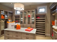 """Closet in Architectural Designs """"Northwest home with hobby room and wine cellar. House Plans And More, Luxury House Plans, Colonial House Plans, House Floor Plans, Portland, Shingle Style Homes, Traditional Style Homes, Florida Home, Luxury Interior Design"""