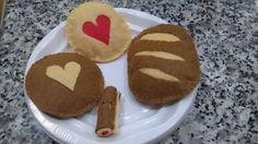 pan y galletas de fietro