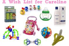 Caroline's Christmas List (gifts for a 7month old baby)