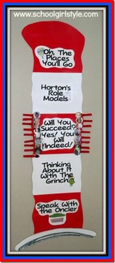 Great Dr. Suess behavior chart!    ABOUT SHOP FAQ CLASSROOM THEMES CLASSROOM COUTURE CLASSROOM INSPIRATION ADVERTISE CONTACT Dr. Seuss Inspir