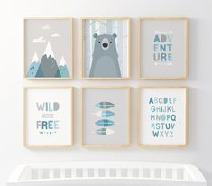 20 Best ideas for baby art nursery grey Kids Wall Decor, Nursery Wall Decor, Nursery Prints, Art Wall Kids, Safari Nursery, Nursery Art, Animal Nursery, Baby Boy Gifts, Baby Boys