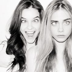 Cara Delevingne and Barbara Palvin