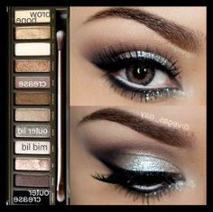prom makeup to go with a grey dress - Google Search