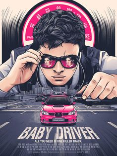 Baby Driver by Amien Juugo - Home of the Alternative Movie Poster -AMP-