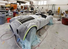 ORNL's 3D printed sports car body