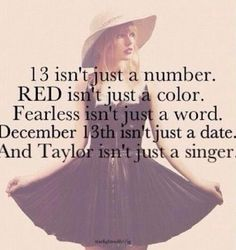...And Taylor isn't just a singer