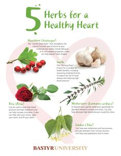 5 herbs to fortify your heart, calm and lift your spirits.