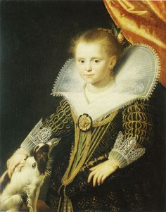 Paulus Moreelse, c. 1623 - - - Young Girl ('The Little Princess')