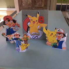 Pokemon Go party decor! Pin now save for later!