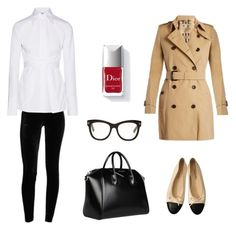 """""""Everyday outfit"""" by kelda-mbyeti on Polyvore featuring moda, Burberry, Chanel, Givenchy, Tom Ford, Couture Colour e Helmut Lang"""