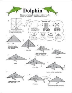 origami unicorn diagram embroidery origami