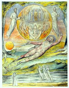 The Youthful Poet's Dream — William Blake