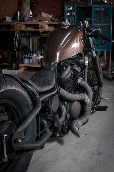 Honda Shadow by Made Men Bikes