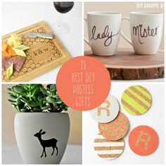 25 Best DIYs for Trendy Hostess Gifts