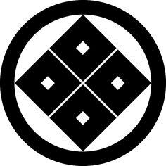 丸に隅立四つ目結 まるにすみたてよつめゆい Maru ni sumitate yotsume yui The design of the 4 square.