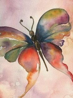 55  Easy Watercolor Painting Ideas For Beginners in 2019 - Fashion Hombre #