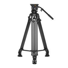 Ikan EG05A2 Two Stage Aluminum Tripod with GH05 Head (Black)