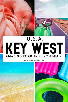 The most amazing American road trip ever? The one from Miami to Key West (Florida)! Let's discover what you will see, where to stop, what to eat and the things you absolutely can't miss in one of the most complete online (free) guides on this slice of paradise!   #Miami #KeyWest #Florida #USA #Roadtrip