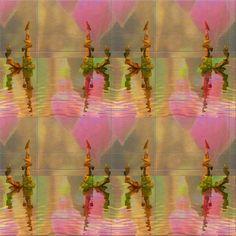 """'Kachel """"WIR - eins im Herzen""""' von Rudolf Büttner bei artflakes.com als Poster oder Kunstdruck $18.71"""