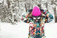 Roxy snowboarding jacket. GIMMI GIMMI GIMMI :)