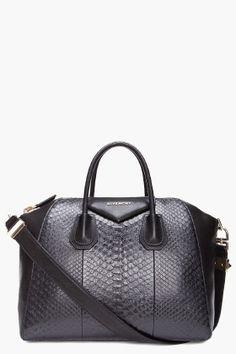 f470a66209 GIVENCHY    MEDIUM PYTHON ANTIGONA DUFFLE BAG Givenchy Antigona