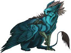 Good company by Llassie on DeviantArt Fantasy, Animal Art, Character Art, Fantasy Art, Mythological Animals, Fantastic Beasts, Dragon Art, Digital Art Illustration, Creature Design