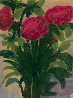 Roses - Emil Nolde