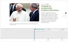 As visitas dos papas Bento 16 e João Paulo 2°