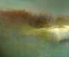 """Saatchi Art Artist: Maurice Sapiro; Oil 2013 Painting """"Reflections In A Golden Pond"""""""