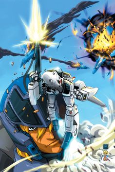 Roy Fokker: Skull One (Robotech / Macross) Macross Valkyrie, Robotech Macross, Macross Anime, Mecha Anime, Gi Joe, Gundam, Transformers, Comic Art Community, Cool Robots