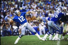 1969 - 1979 Roger Staubach - Dallas Cowboys